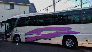 報恩寺三木本坊をはじめとした集合場所にて、皆様にバスにご乗車頂きました